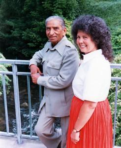 Swami Gitaprakash and Satchi